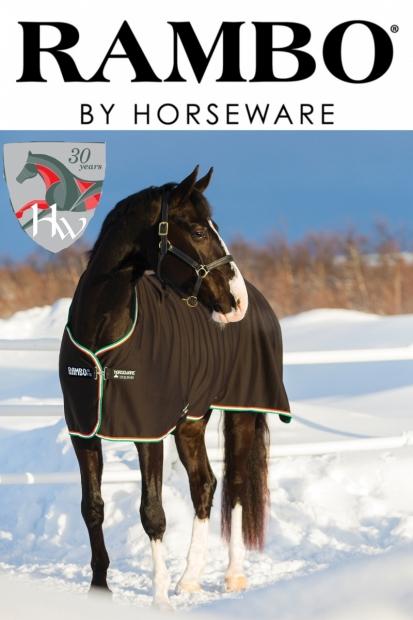 Horseware Rambo Cooler black/green