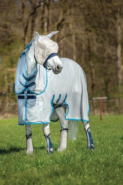 Amigo Bug Buster unbehandelte Fliegendecken silver/ electric blue Model 2020
