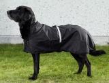 Back on Track Hunde-Regendecke Allwetterdecke mit leichter Füllung 78-82 cm