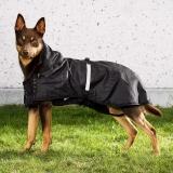 Back on Track Hunde-Regendecke Allwetterdecke ungefüttert 55-74 cm