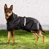 Back on Track Hunde-Regendecke Allwetterdecke ungefüttert 78-82 cm