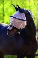 Horseware Rambo Plus Fly Mask Vamoose Gesichtsmaske Oatmeal