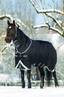 Horseware Rambo Supreme medium VAri-layer Winterdecke mit Halsteil schwarz