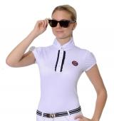 Spooks Riding Turniershirt Camilla Elegance weiss