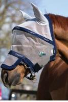 Horseware Rambo Plus Fly Mask Vamoose Gesichtsmaske Silver