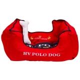 HV Polo Hundebett Mendoza Scarlet, Größe L