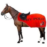 HV Polo Fleece Nierendecke Exercise Rug Favouritas Flame