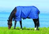 Horseware Rhino Original lite Regendecke navy -light blue