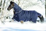 Horseware Rambo DUO Weidedecke mit Halsteil 2 in 1 blau (navy)