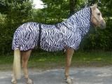 Hafer24 Fliegendecke Ekzemerdecke Marty Zebra Größe wählbar