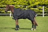 Horseware RHINO  WUG 100g lite Regendecke Black/ grey