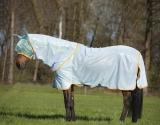 Horseware Amigo Bug Rug Fliegendecke azure blue/ orange Model 2020