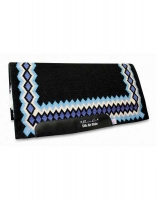 SMx H.D. AirRide SHILLOH Pad - Black/Turquoise